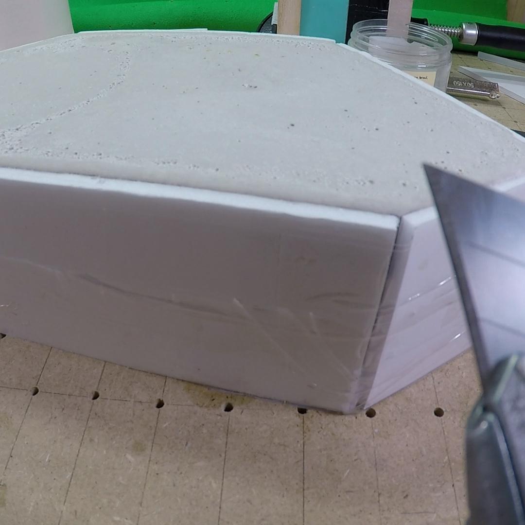 Fabrication d'un moule en plâtre pour créer un  personnage d'animation en stopmotion