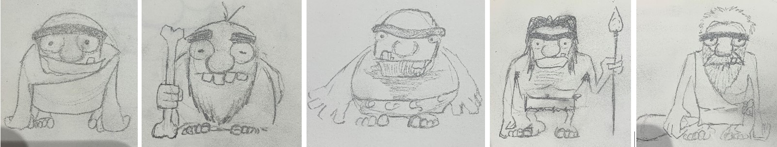 Character design des personnages d'animation en stopmotion