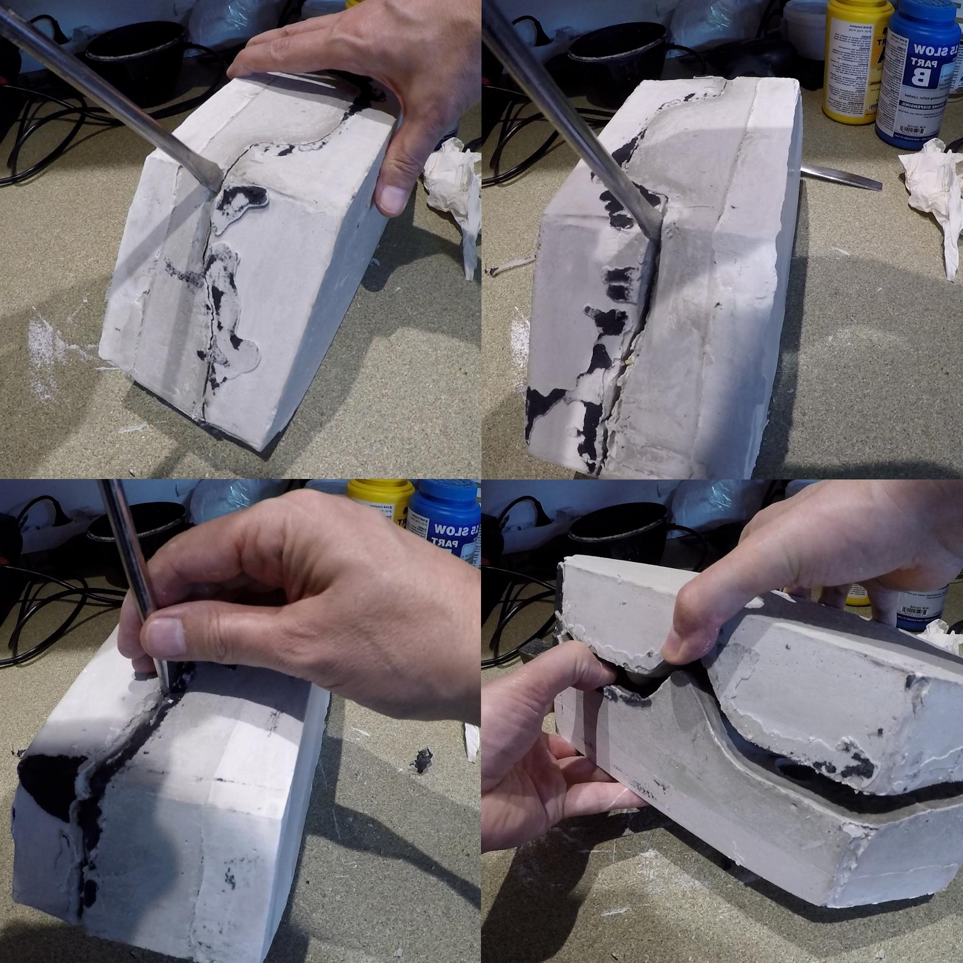 Démoulage du modèle de personnage  pour l'animation en stopmotion