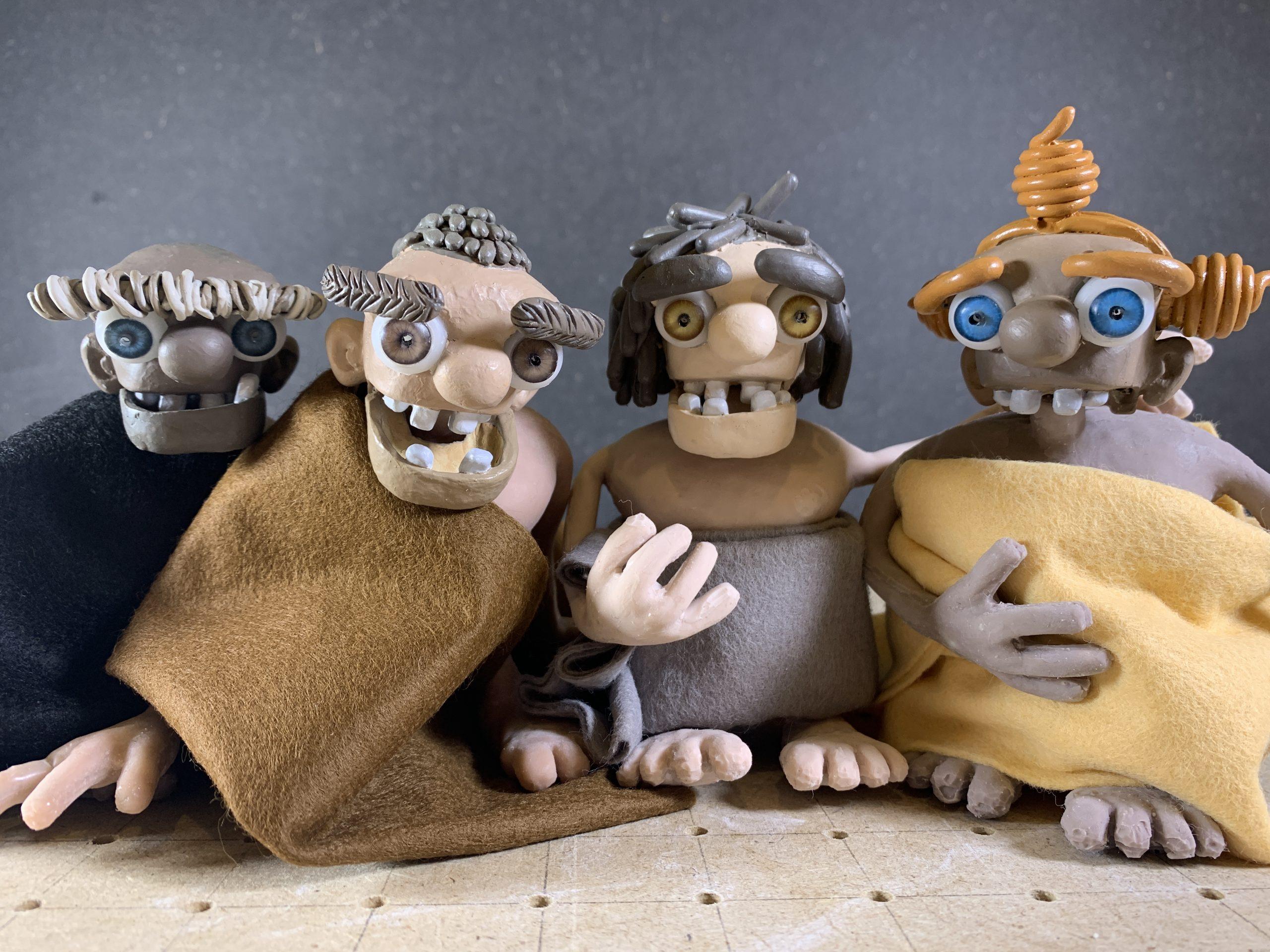 Fabrication de costumes pour des personnages d'animation en stopmotion