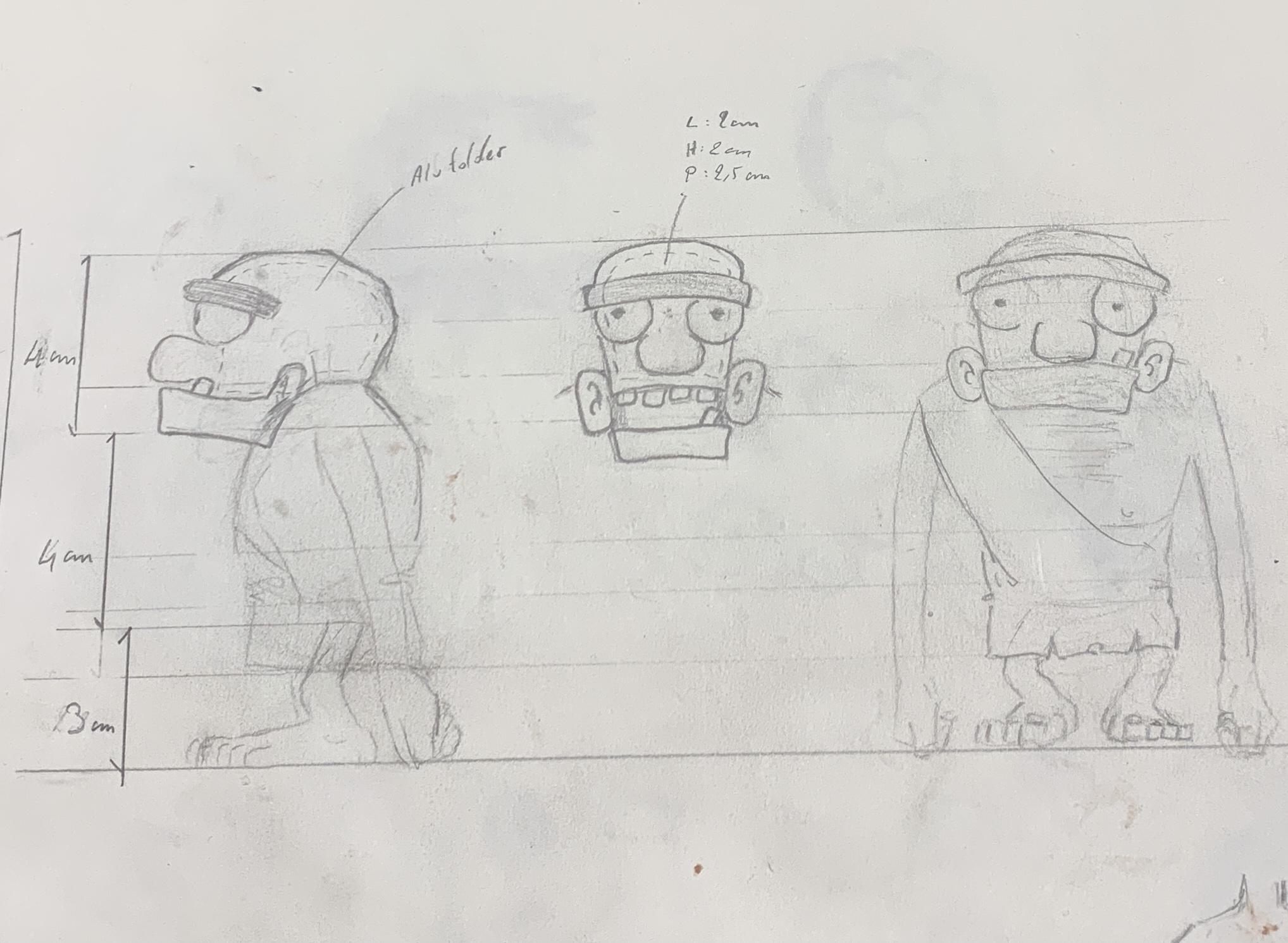 Aspects techniques des personnages d'animation en stopmotion